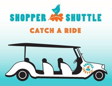 Catch a Ride on the Shopper Shuttle!